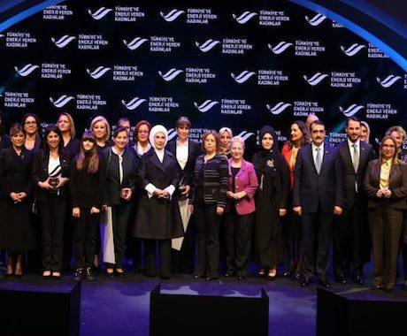 Türkiye'ye 'Enerji Veren Kadınlar' Ödüllendirildi