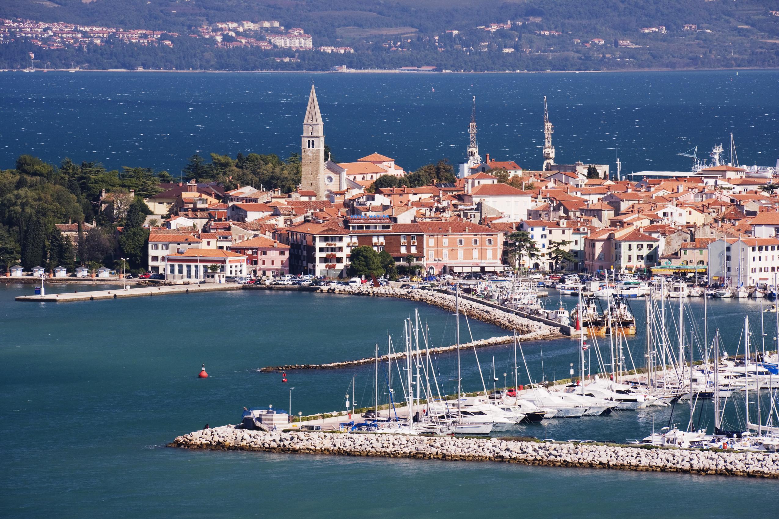 Town of Izola, Slovenia