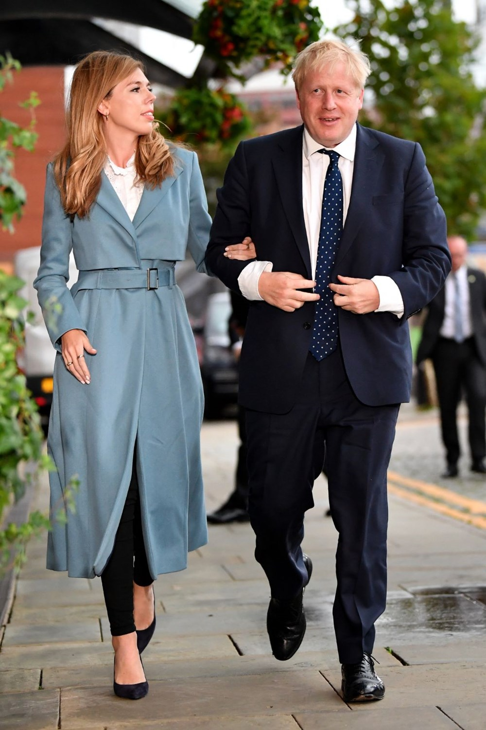 Boris Johnson ve Carrie Symonds 1