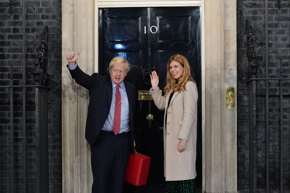 Boris Johnson ve Carrie Symonds