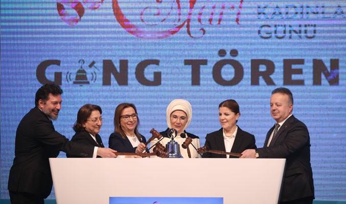 Emine Erdoğan Borsa İstanbul