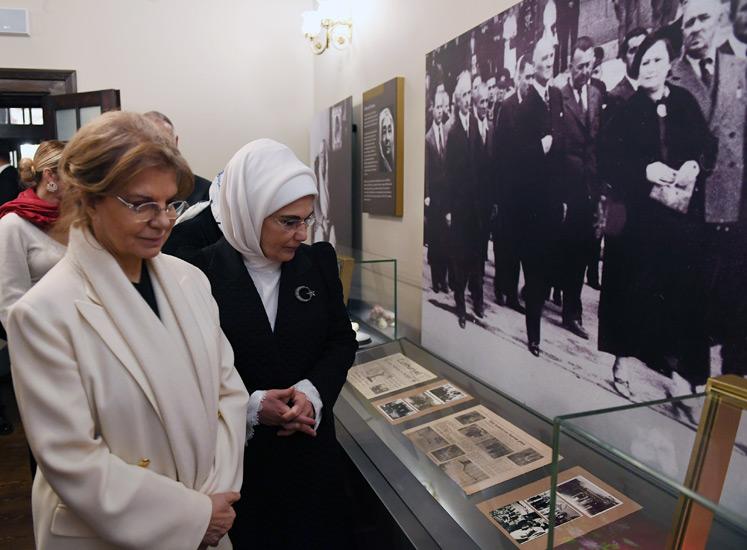 Tansu Çiller, Emine Erdoğan