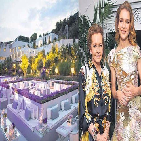 Bernard Arnault'un gelini, Rus model Natalia Vodianova 'dan milyonluk davet